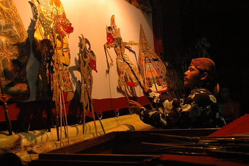 wayang kulit indianisation of southeast asia
